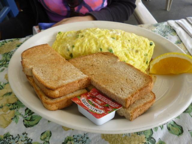 カイルアにあるモケズの朝食