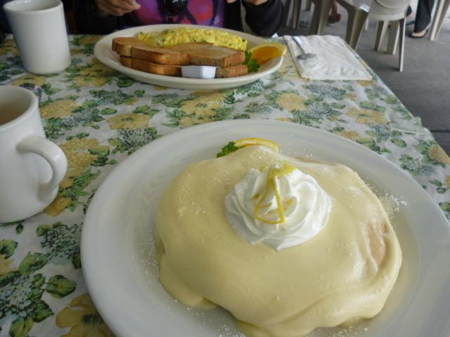 カイルアにあるモケズのパンケーキ