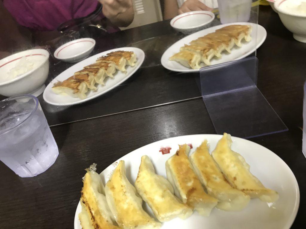 宇都宮で一番餃子が美味しかった香蘭の焼餃子