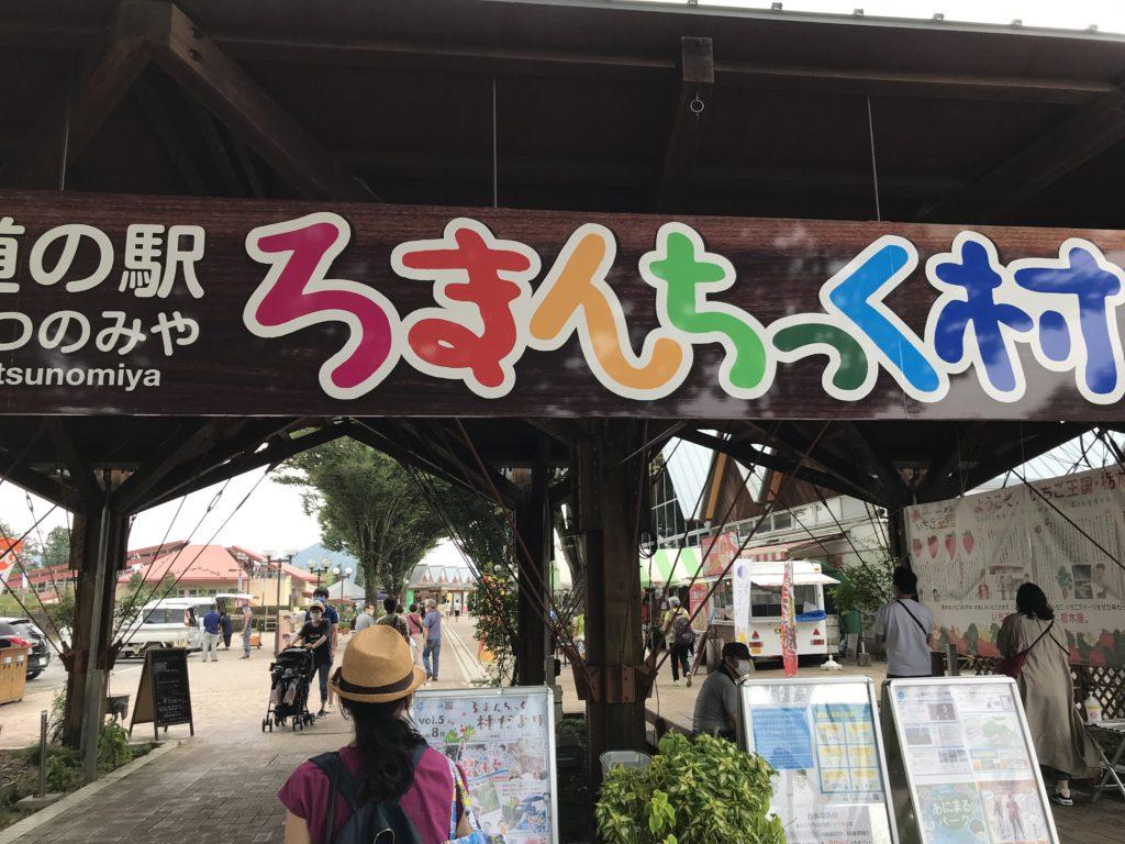 旅行でいった栃木のろまんちっく村