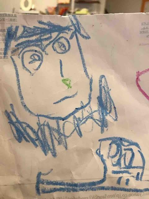 4歳児が書いた絵